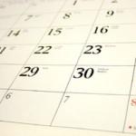 Calendar Page EOM